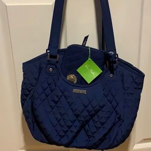 Vera Bradley quilted purse with wallet